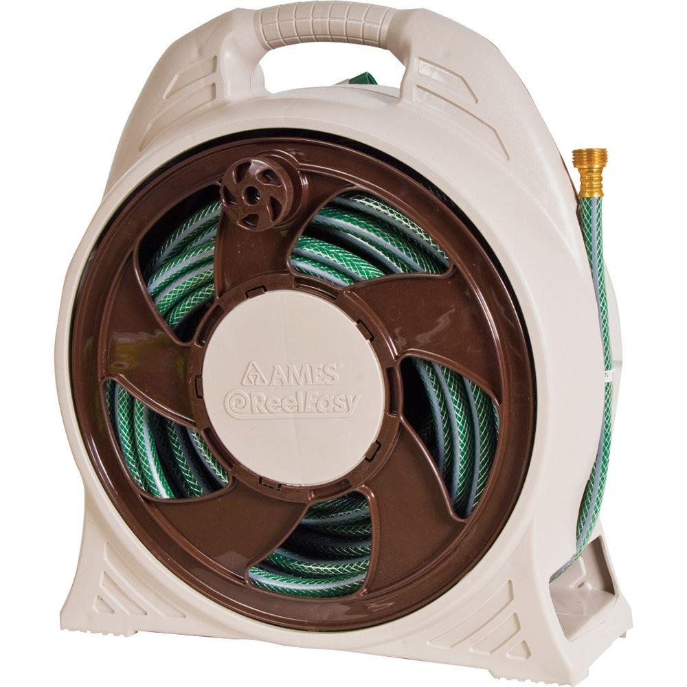 60 ft. Cassette Portable Hose Reel with Hose