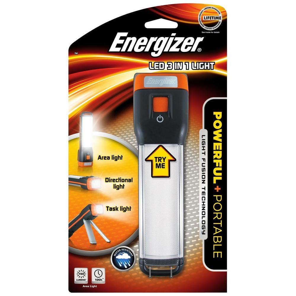 Energizer Fusion 3-in-1 LED Flashlight