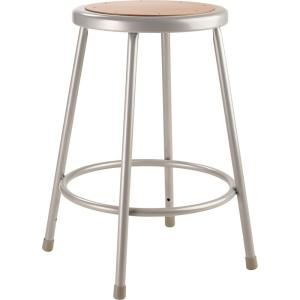 Strange National Public Seating 24 In Grey Heavy Duty Steel Stool Pabps2019 Chair Design Images Pabps2019Com