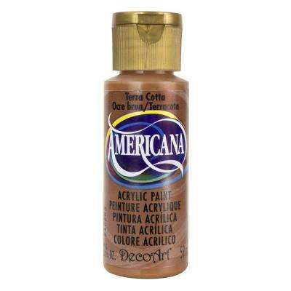 Americana 2 oz. Terra Cotta Acrylic Paint