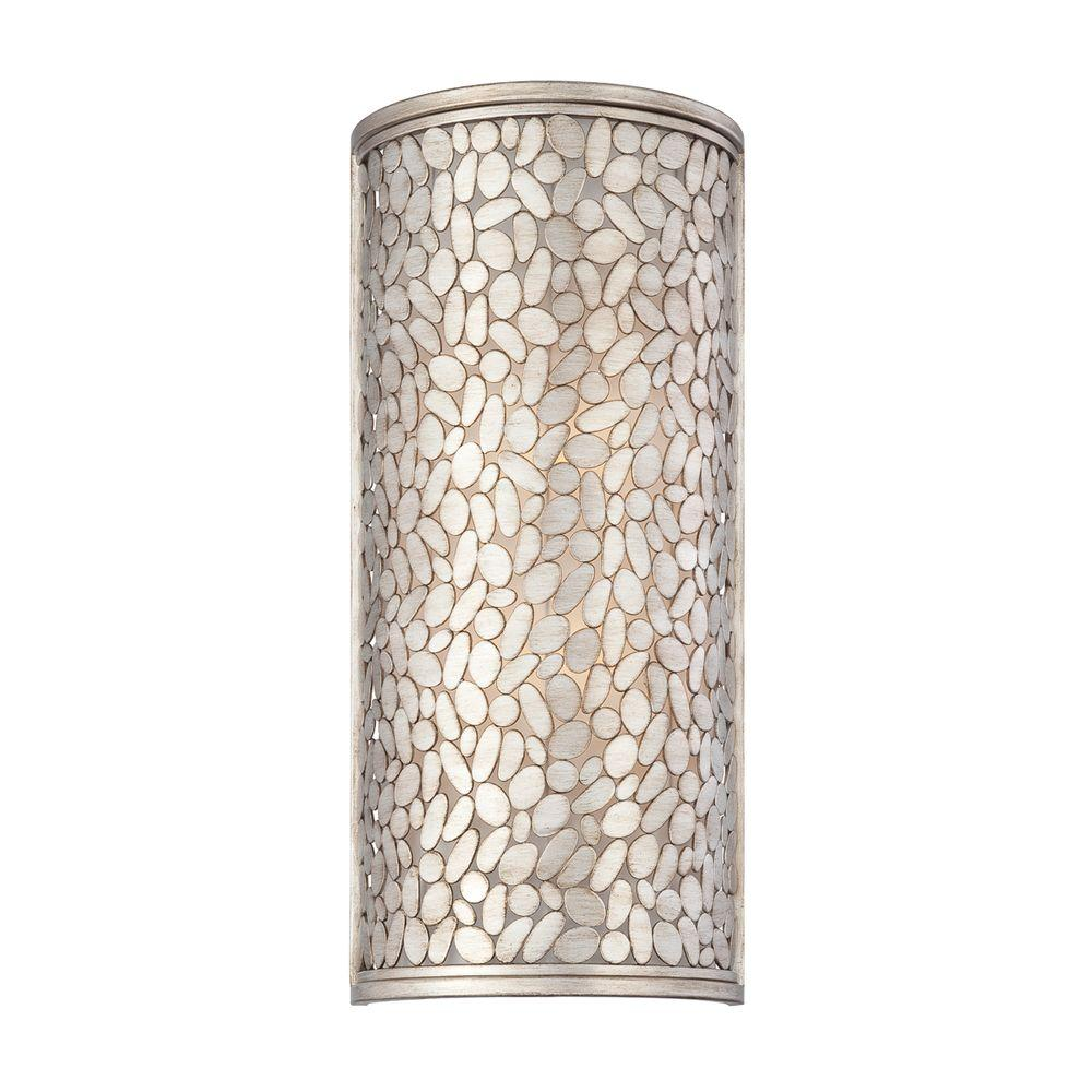 Eurofase Amano Collection 4-Light Silver Wall Sconce-DISCONTINUED