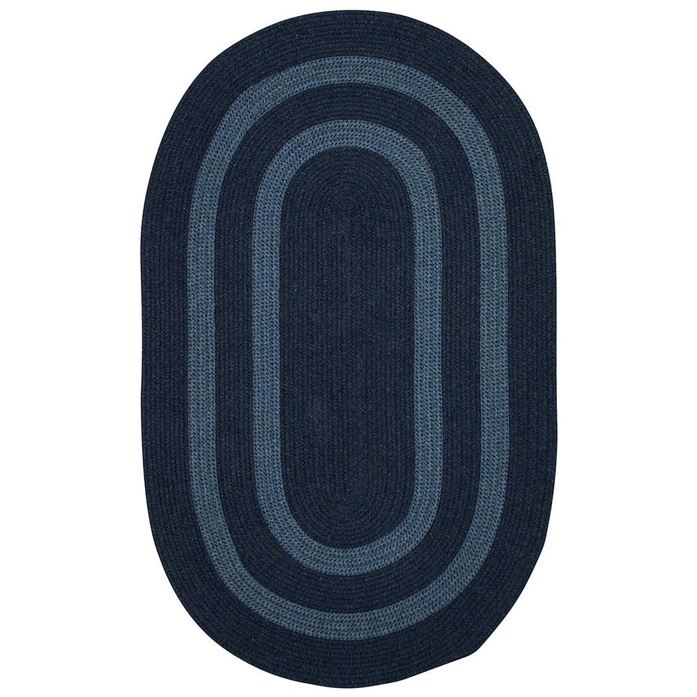 Paige Midnight Blue 2 ft. x 3 ft. Oval Accent Rug
