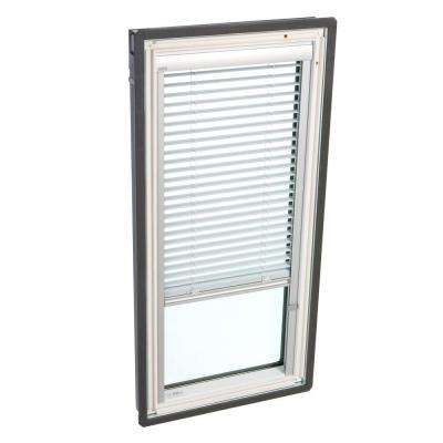 White Manually Operated Venetian Skylight Blind for VS M04 Models