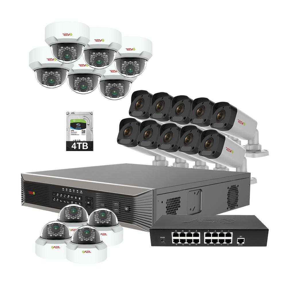 Revo Ultra Plus Hd 32 Channel 4tb Nvr Surveillance System