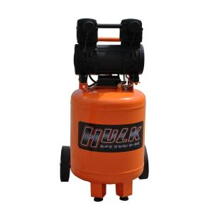 HULK POWER 10 Gal. 2 HP Portable Electric-Powered Vertical Silent Air Compressor by HULK POWER
