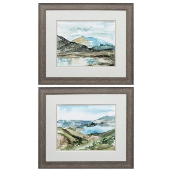 Homeroots Victoria 8 In X 10 In Distressed Wood Toned Gallery Frame Set Of 2 365363 The Home Depot