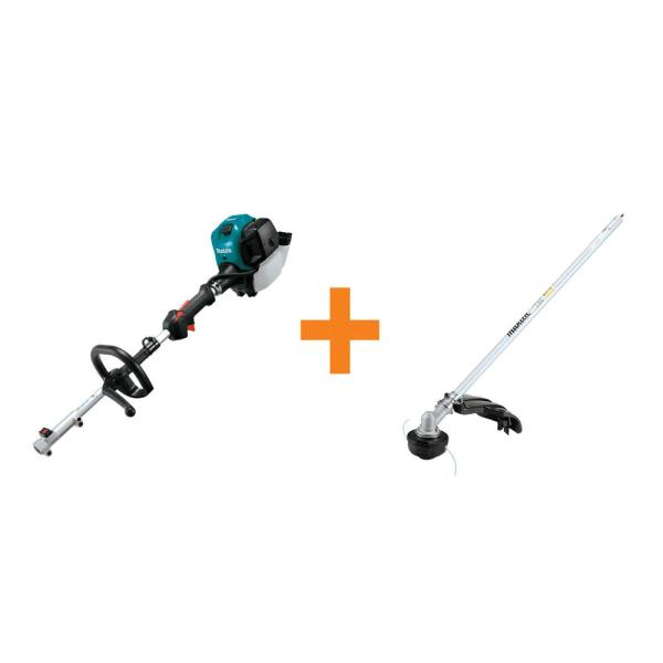 25.4 cc MM4 4-Stroke Couple Shaft Power Head and String Trimmer Couple Shaft Attachment