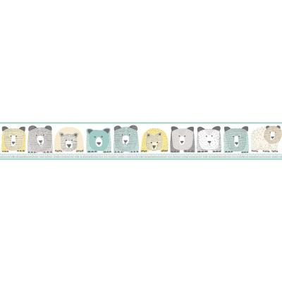 DwellStudio Baby and Kids Bears Wallpaper Border