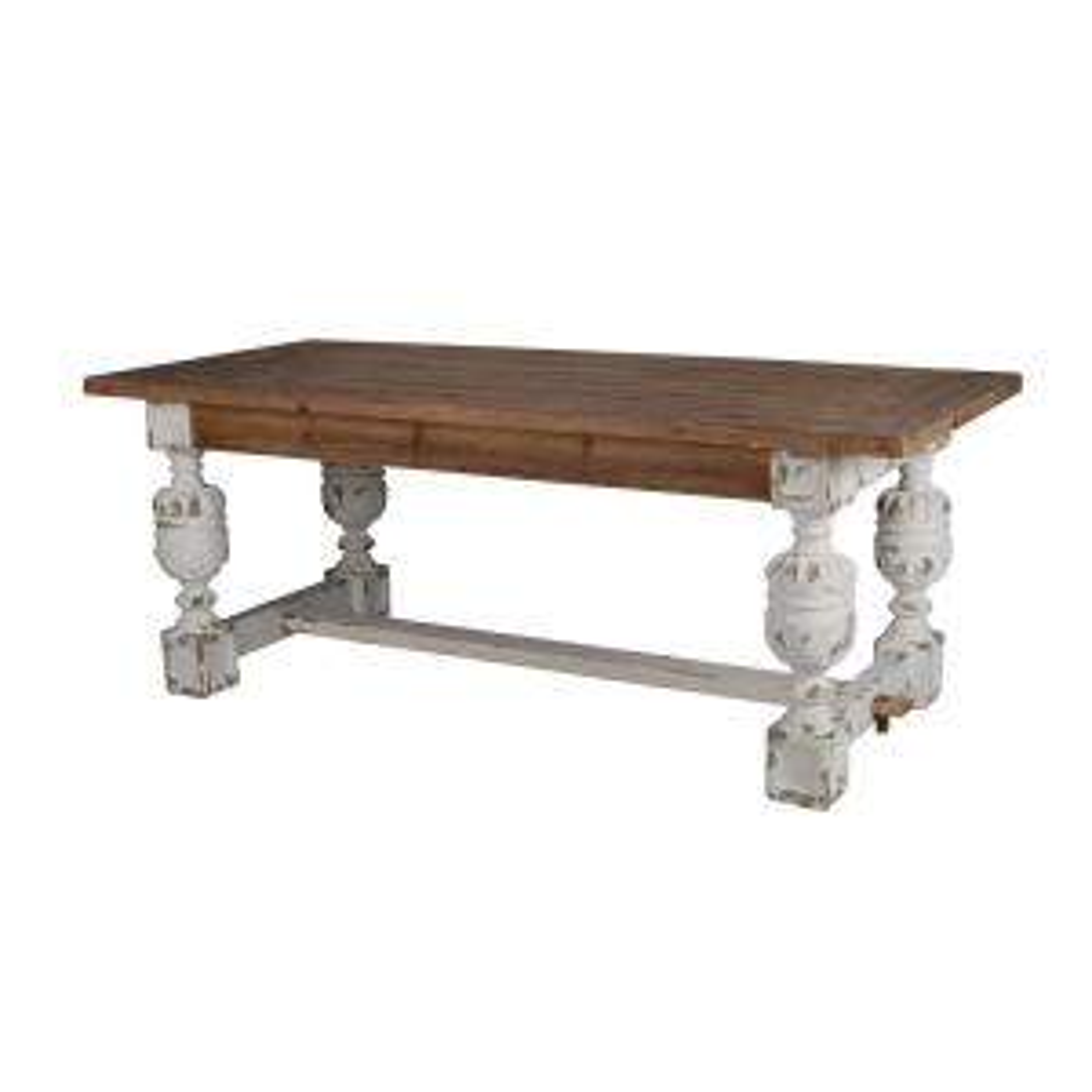 Alcott White Dining Table