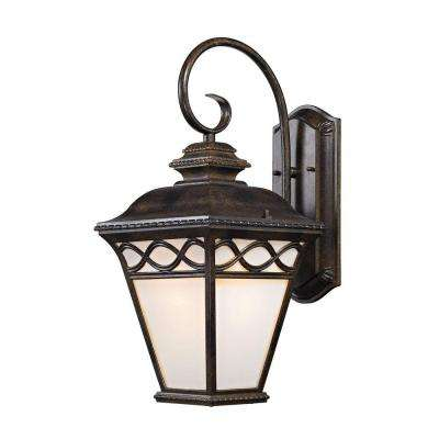 Mendham 1-Light Hazelnut Bronze Coach Lantern