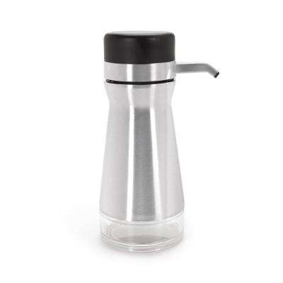 Good Grips Big Button Hand Soap Dispenser in Stainless Steel