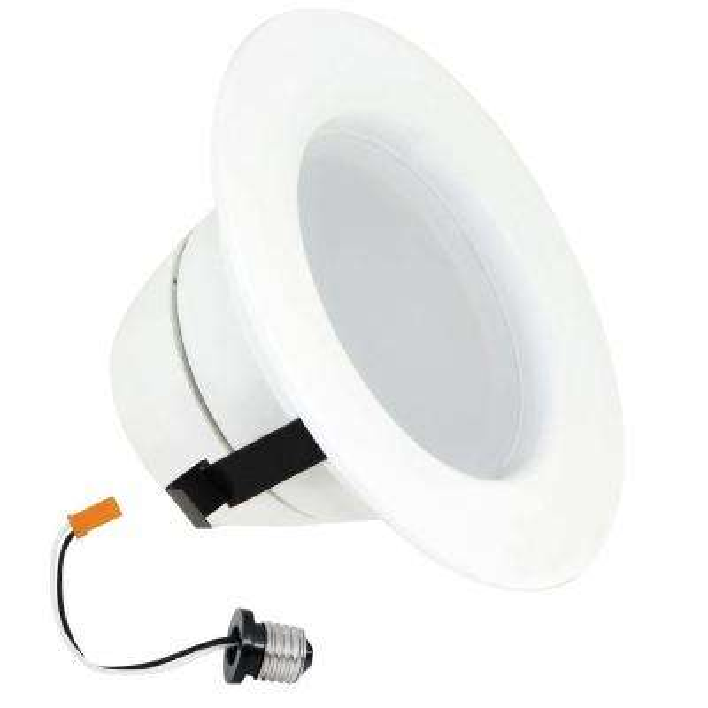 4 in. White R20 Trim Recessed Retrofit Downlight LED Module Light Bulb