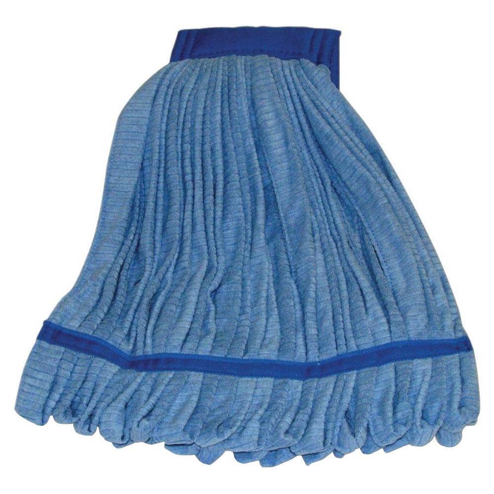 Microfiber Cloth Wet: Genuine Joe Microfiber Wet Mop Head Refill-GJO47539