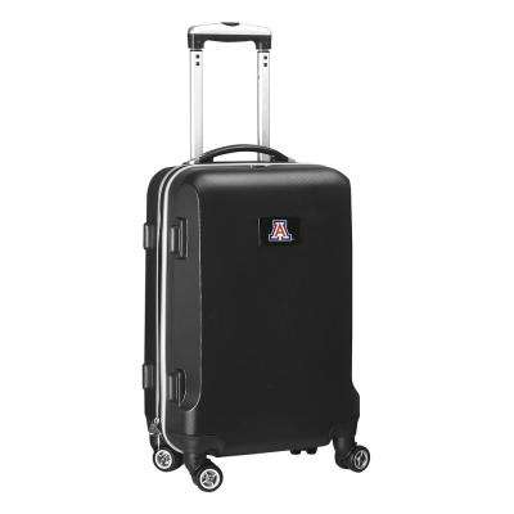 NCAA Arizona 21 in. Black Carry-On Hardcase Spinner Suitcase