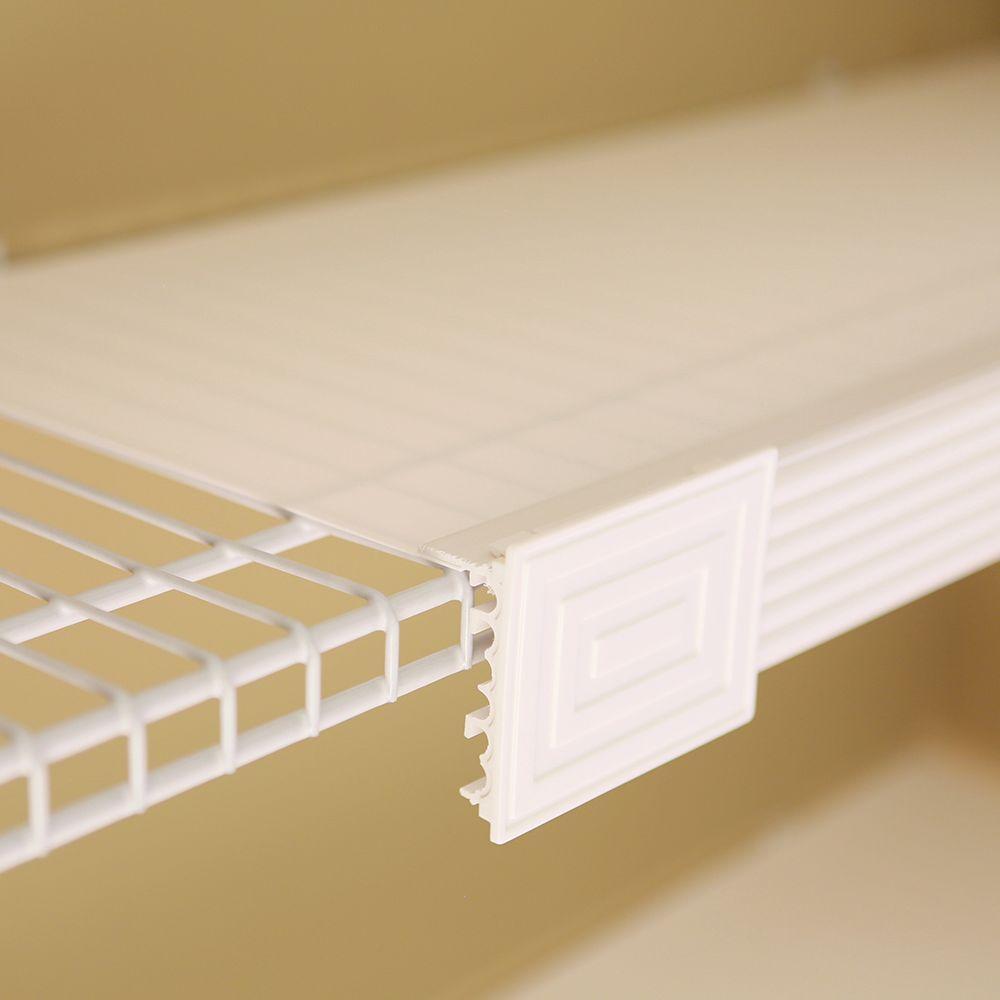 Help MyShelf White Shelf Liner Kit (Set of 5)-206025WHFS - The Home ...