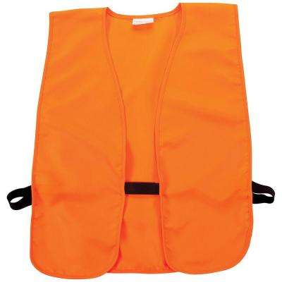 Small Blaze Orange Safety Vest