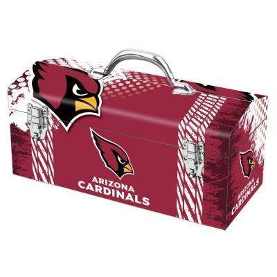 7.2 in. Arizona Cardinals NFL Tool Box