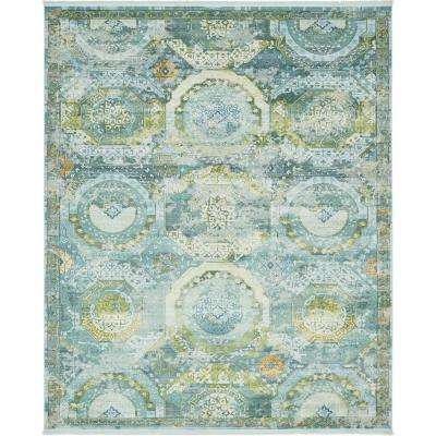 8 X 10 Blue Area Rugs Rugs The Home Depot