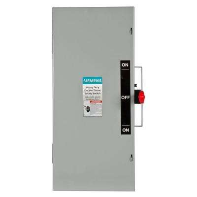 Double Throw 100 Amp 240-Volt 2-Pole Indoor Non-Fusible Safety Switch