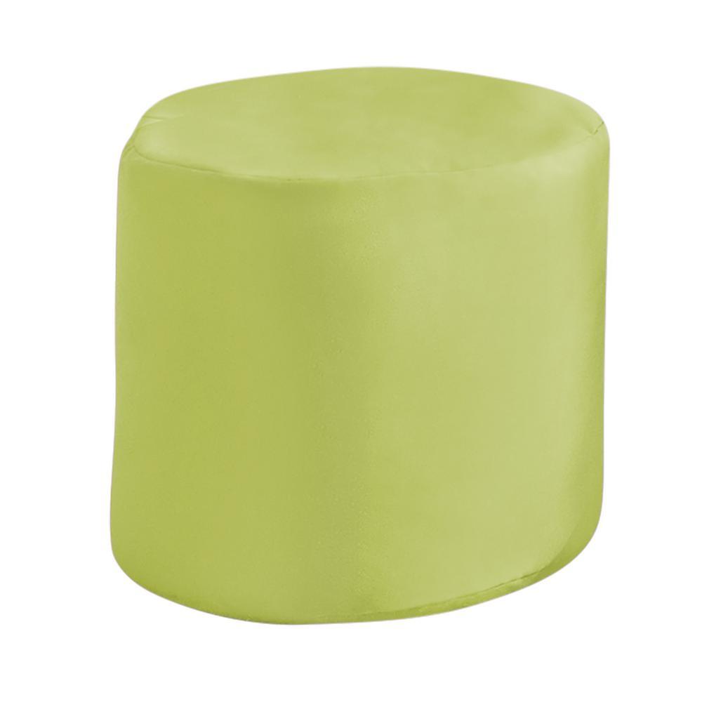 Prime Paradise Cushions 20 In X 20 In X 18 In Spectrum Kiwi Round Outdoor Pouf Ottoman Seat Knife Edge Machost Co Dining Chair Design Ideas Machostcouk