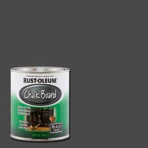 Rust Oleum Specialty 30 Oz Flat Black Chalkboard Paint