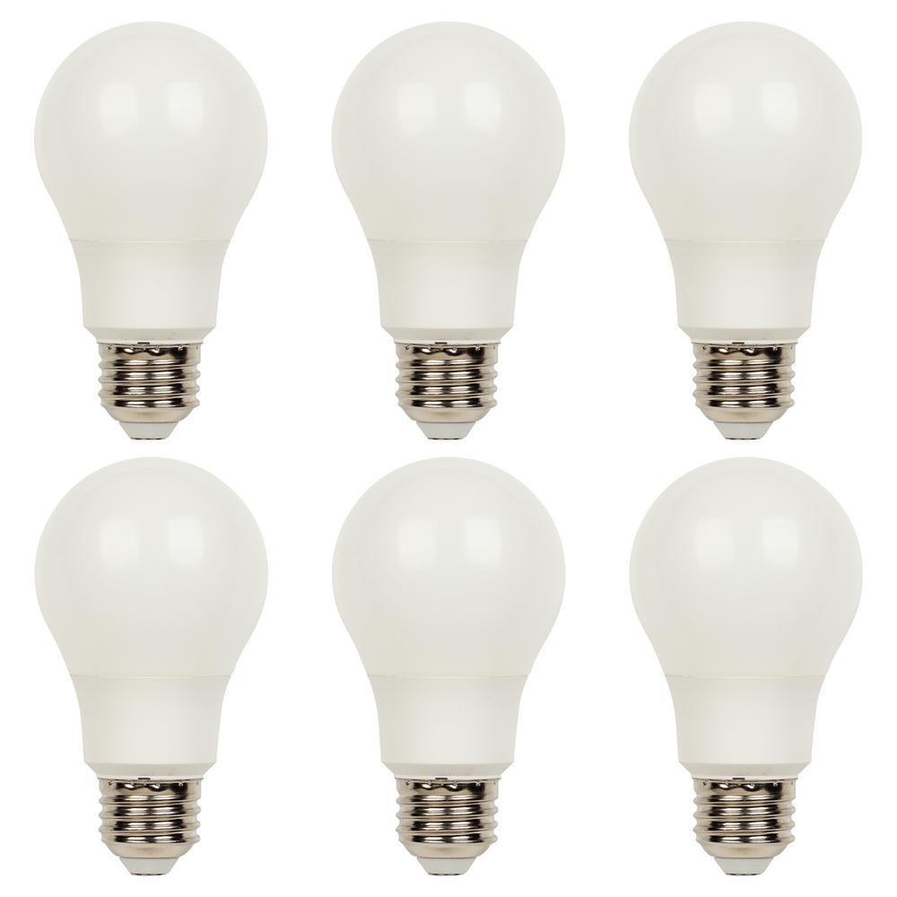 Westinghouse 40w Equivalent Bright White Omni A19 Led: Westinghouse 40-Watt Equivalent Omni A19 Dimmable ENERGY