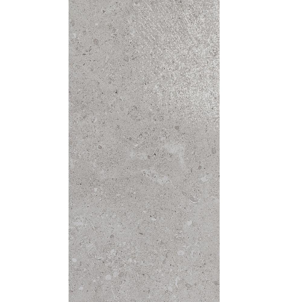 Adelaide Gray Matte 12 in. x 24 in. Color Body Porcelain
