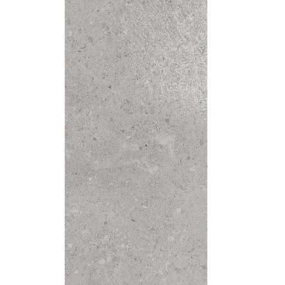 Adelaide Gray Matte 12 in. x 24 in. Color Body Porcelain Floor and Wall Tile (15.12 sq. ft. / case)