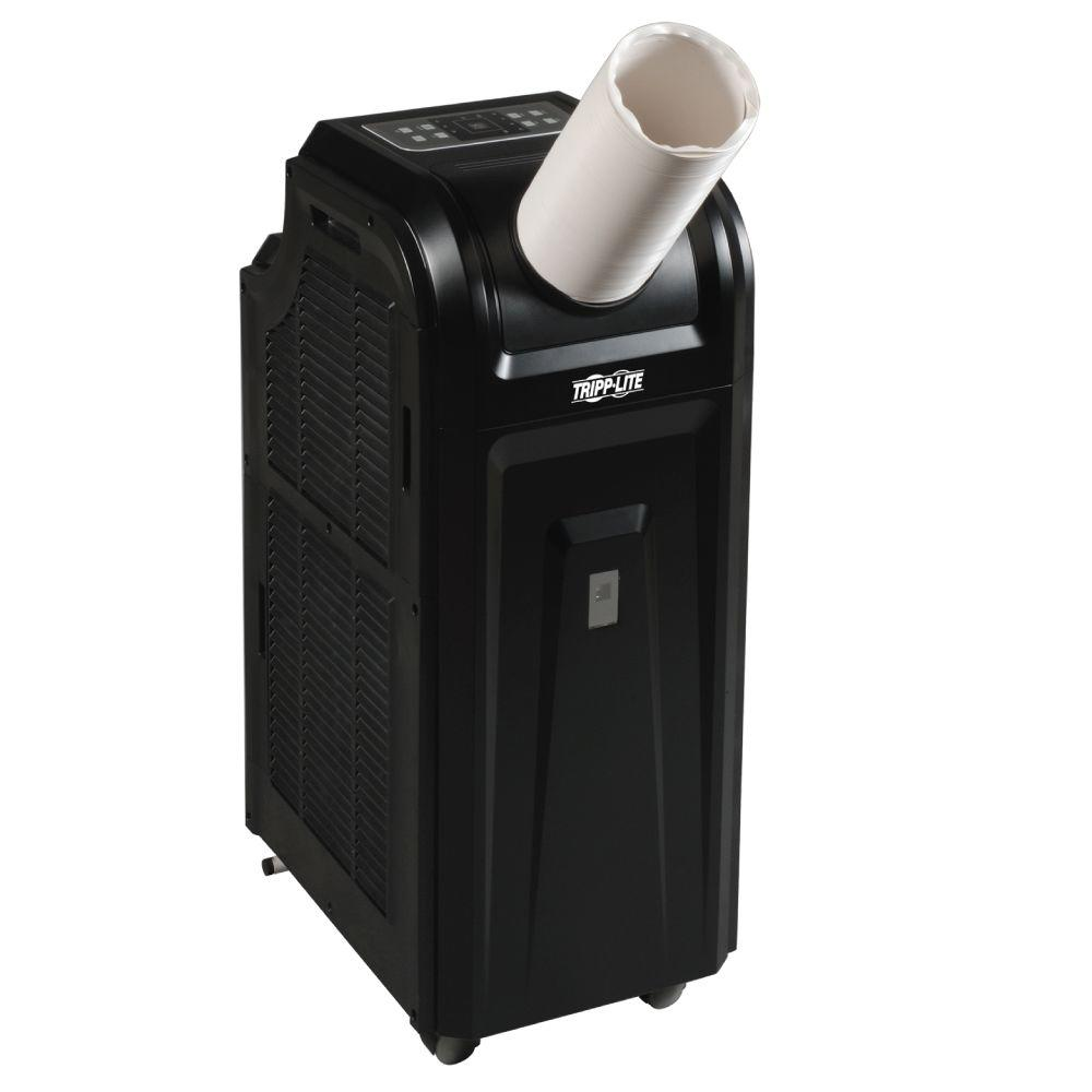 12,000 BTU Portable Cooling Unit or Air Conditioner with Dehumidifier 3.4 kW 120-Volt 60 Hz, Black