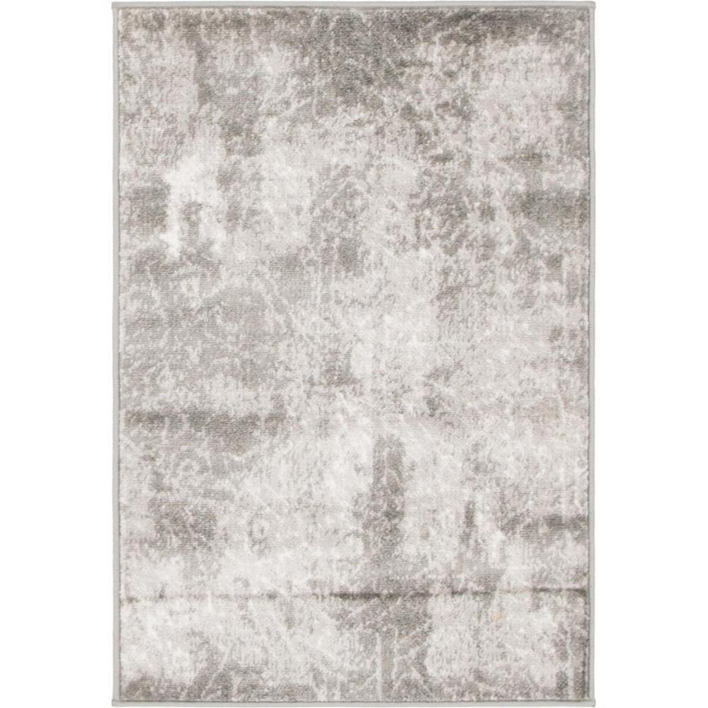 Sofia Rainier Dark Gray 2' 2 x 3' 0 Area Rug