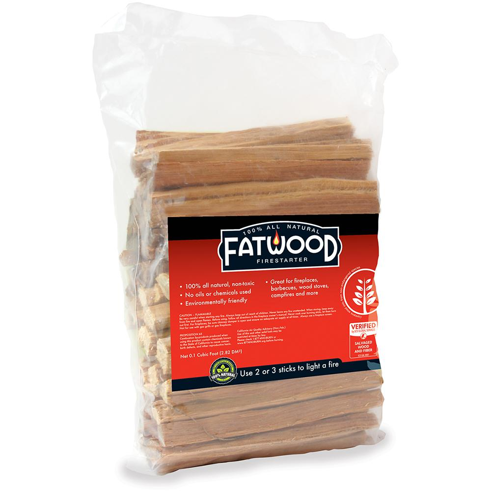 null Fatwood All Natural Firestarter 4 lb. Bag
