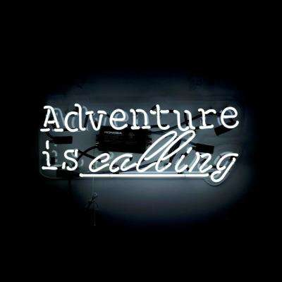 Oliver Gal 'Adventure' Plug-in Neon Lighted Sign