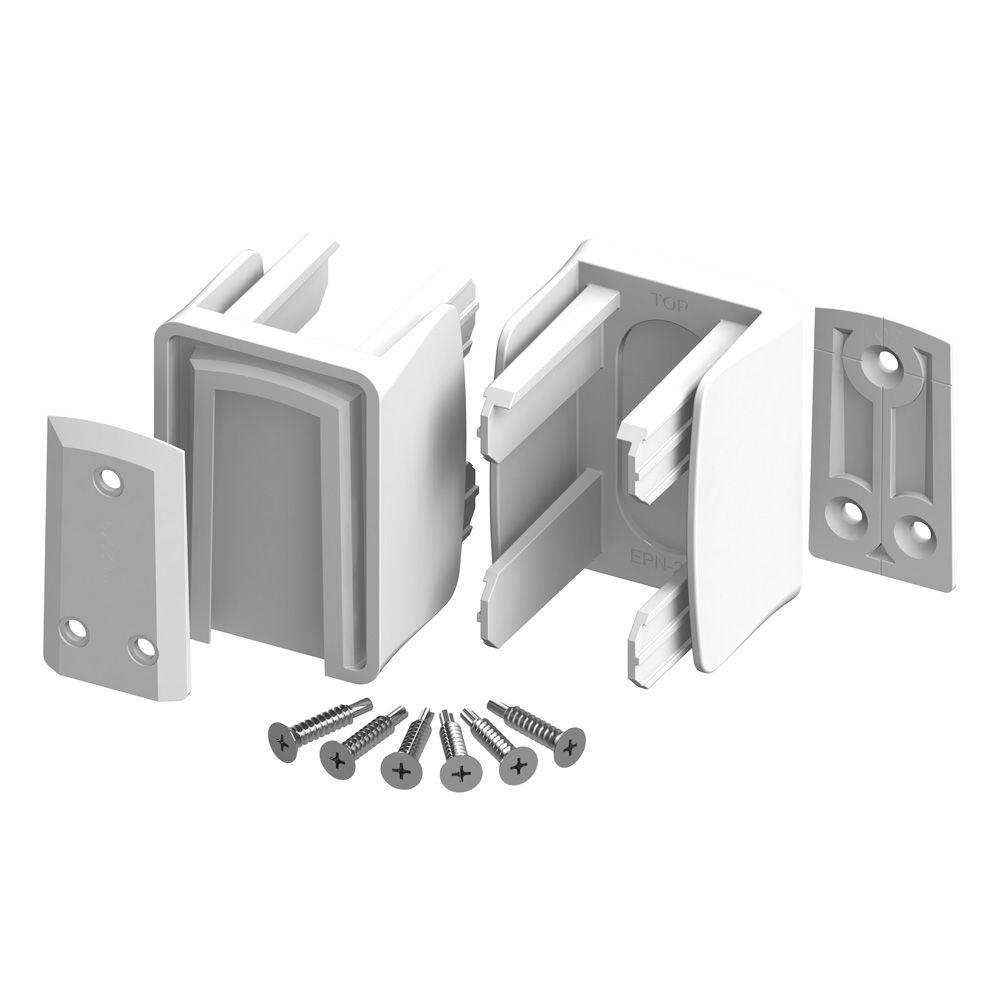 Veranda Slidelock Bracket Kit (2-Pack) with Screws