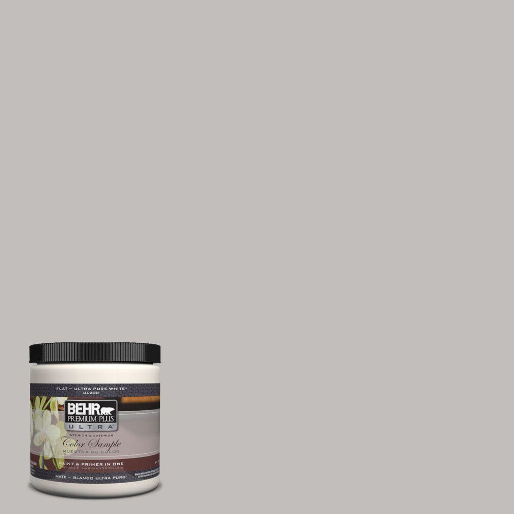 BEHR Premium Plus Ultra 8 Oz. #UL260-11 Natural Gray Matte