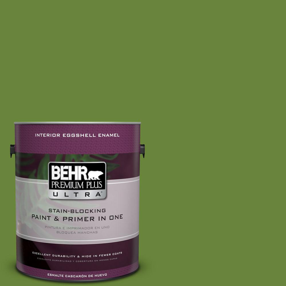 BEHR Premium Plus Ultra 1-gal. #P370-7 Sun Valley Eggshell Enamel Interior Paint