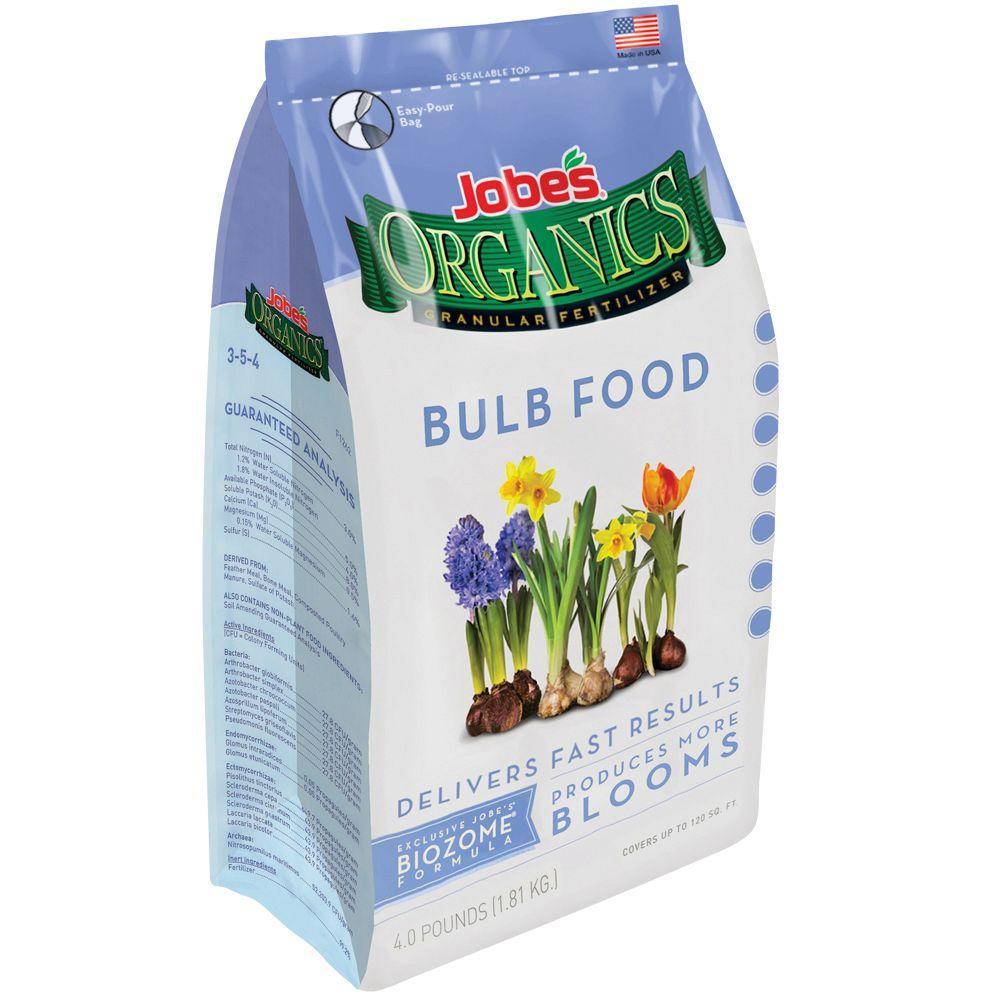 4 lb. Organic Bulb Plant Food Fertilizer with Biozome, OMRI Listed