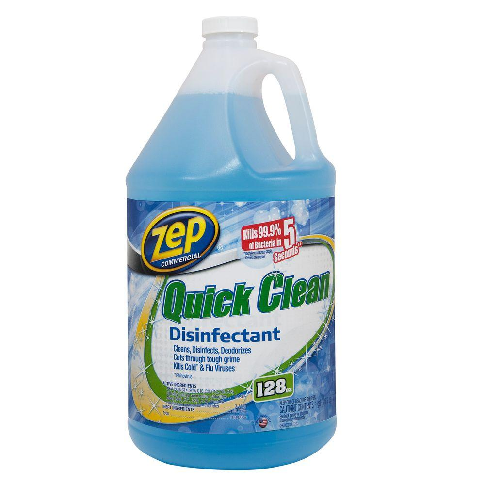 ZEP 128 Oz. Quick Clean Disinfectant (Case Of 4)-ZUQCD128