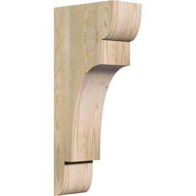 6 in. x 12 in. x 28 in. Douglas Fir New Brighton Rough Sawn Corbel