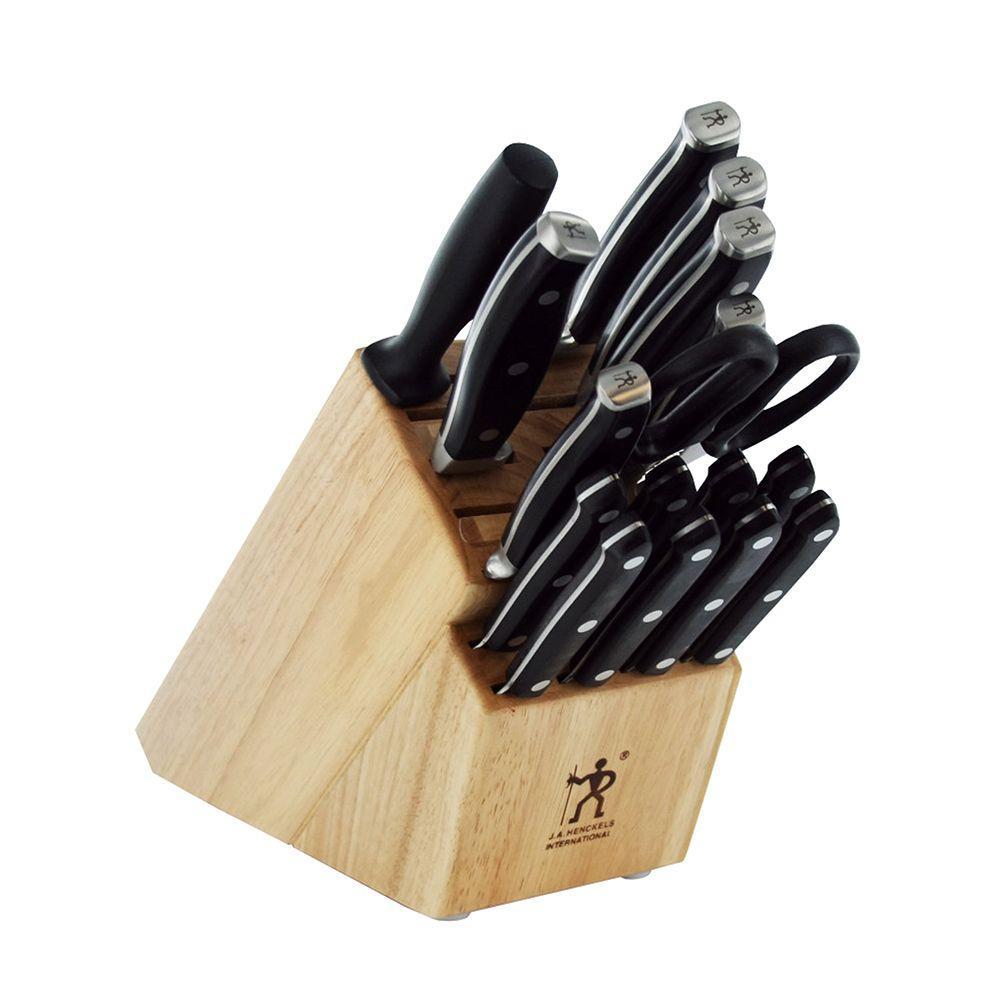 Forged Premio 17-Piece Knife Block Set
