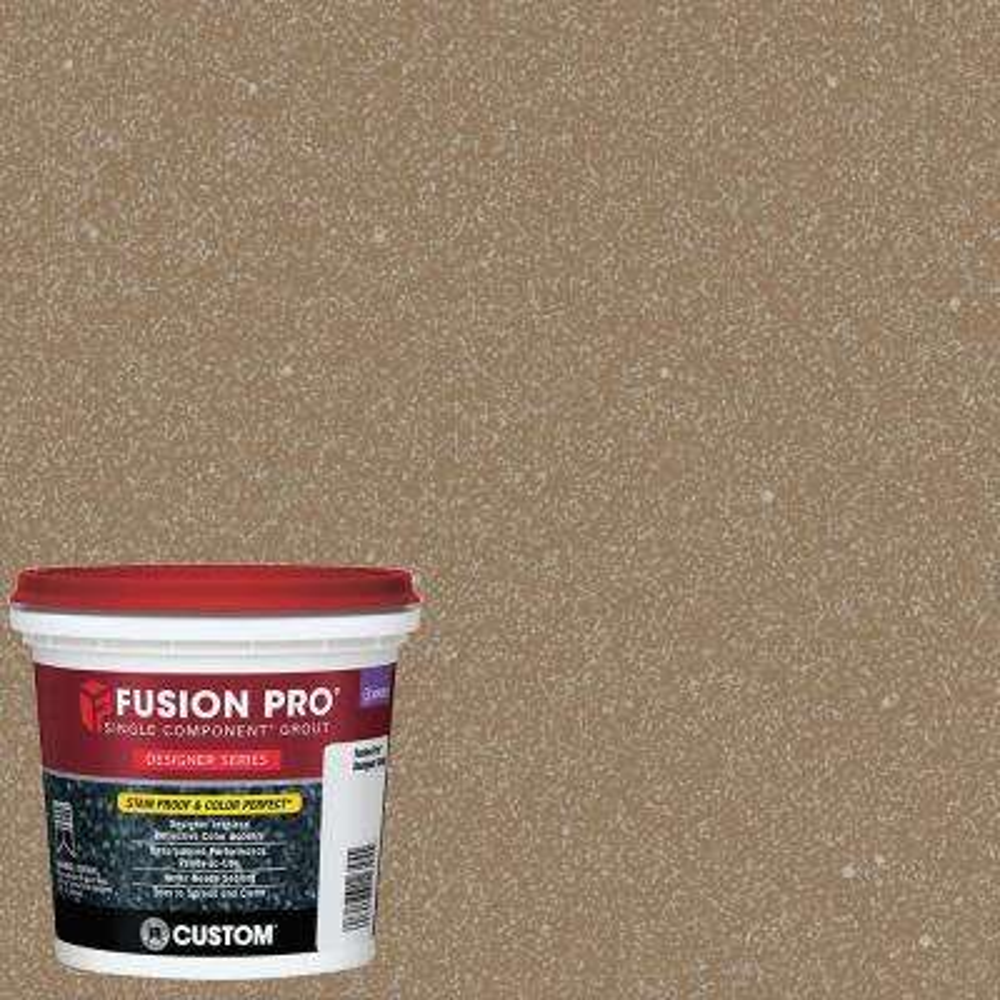 Fusion Pro #554 Raw Sugar 1 qt. Designer Series Grout