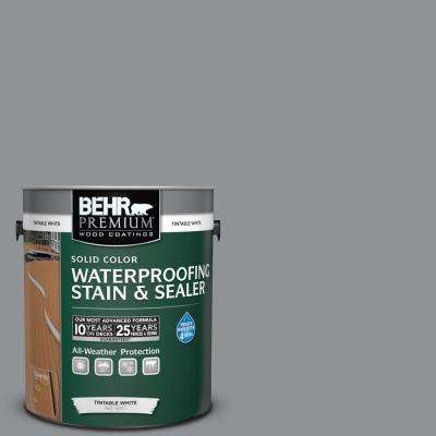 1 gal. #770F-4 Gray Area Solid Waterproofing Stain and Sealer