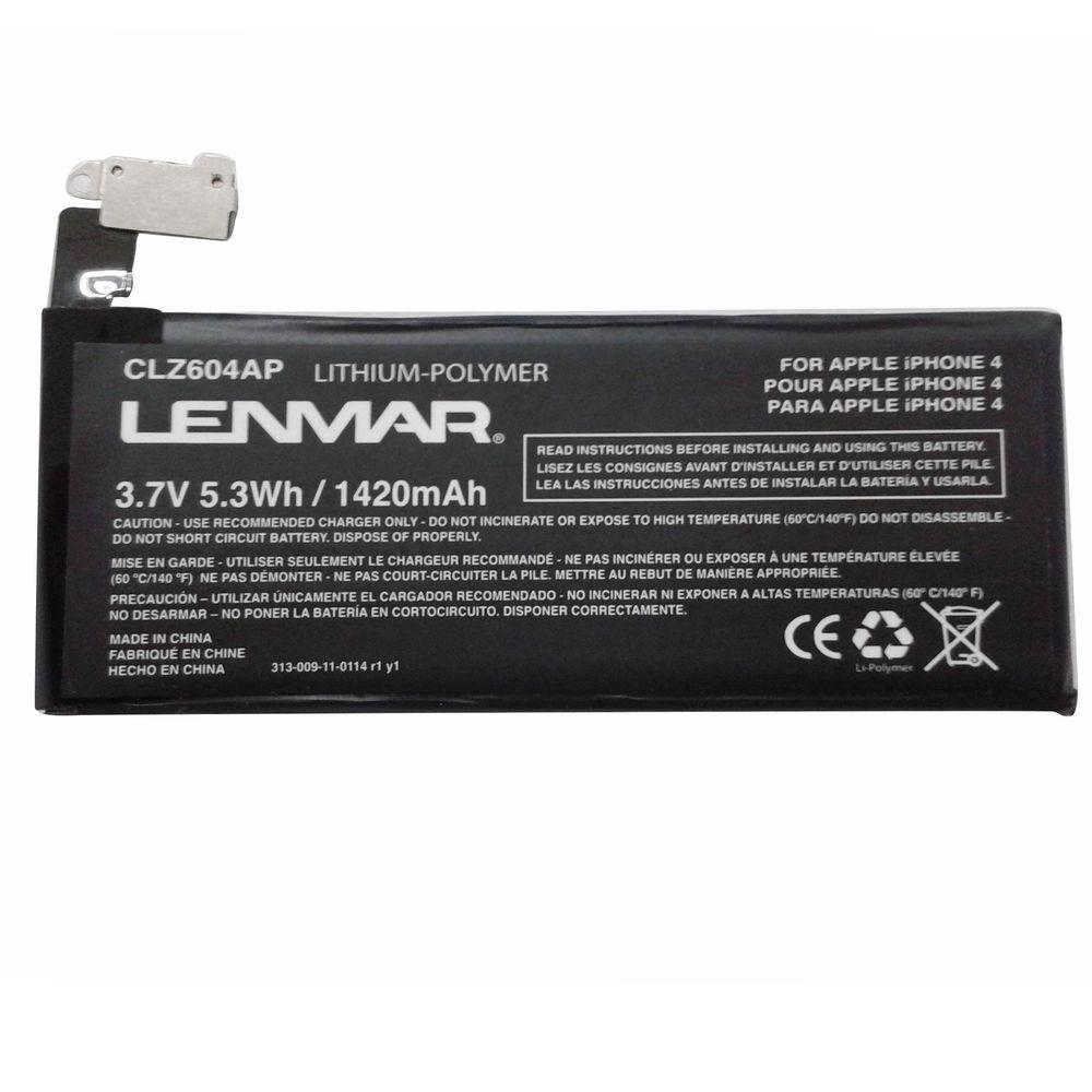 Lenmar Lithium Ion 1420mAh/3.7-Volt Mobile Phone Replacement Battery