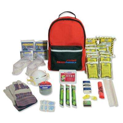 2-Person 3-Day Hurricane Emergency Kit Backpack