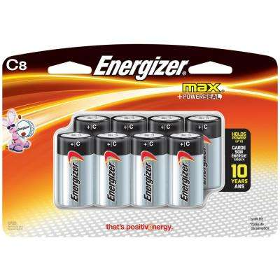 Max C Alkaline Battery (8-Pack)