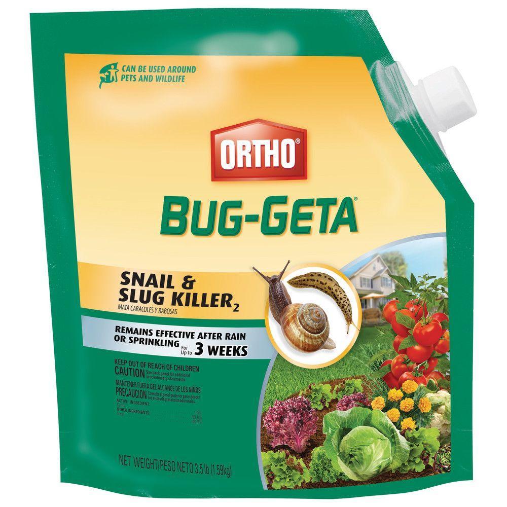 Ortho Bug-Geta 3.5 lb. Snail and Slug Killer