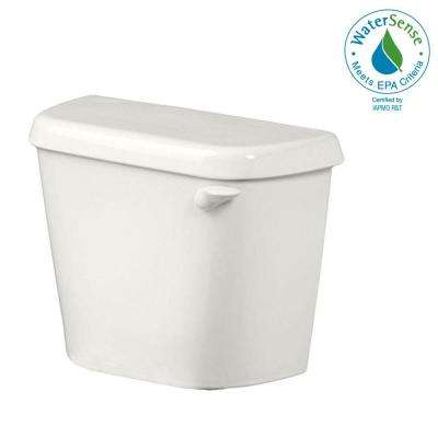 Colony 1.28 GPF Single Flush Toilet Tank Only for 12 in. Rough in White with Right-Hand Trip Lever