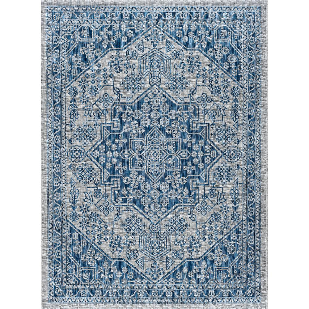 Veranda Indigo 8 Ft X 10 Indoor Outdoor Area Rug