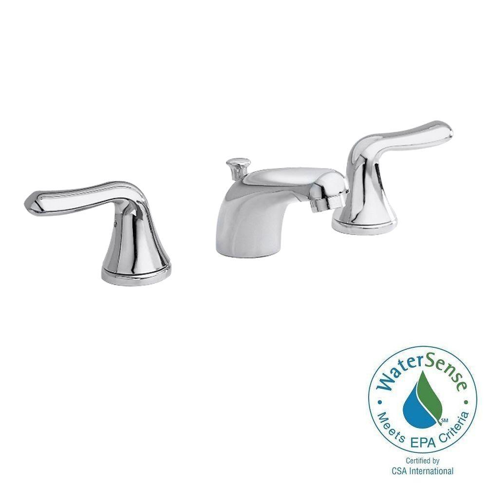 American standard colony soft 8 in widespread 2 handle for American standard bathroom faucets reviews