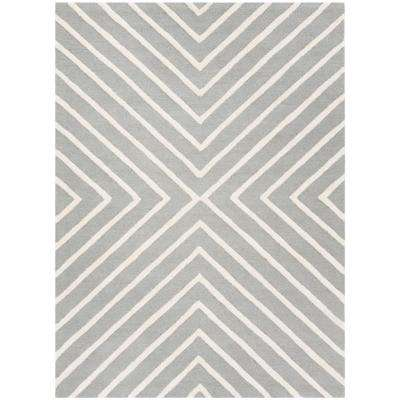 Gray Wool Kids Rugs The Home Depot