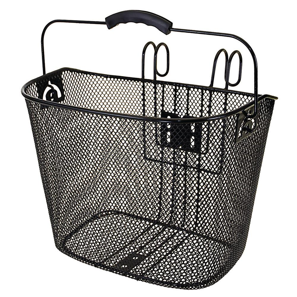 Quick Mount Wire Bicycle Basket